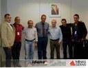 Vereadores e o Prefeito Vavá buscando recursos no IDENE e SEDINOR em Belo Horizonte